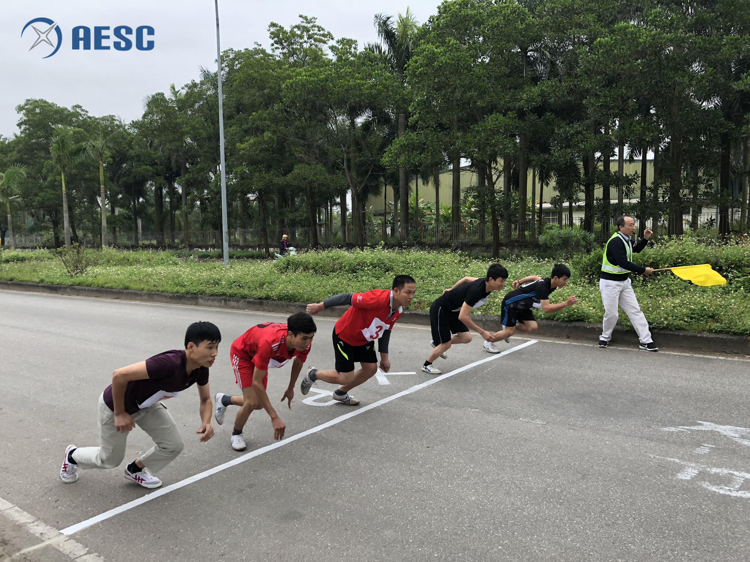 Môn chạy diễn ra với các nội dung: Chạy 800m Nữ, 100m Nam, 1500m Nam