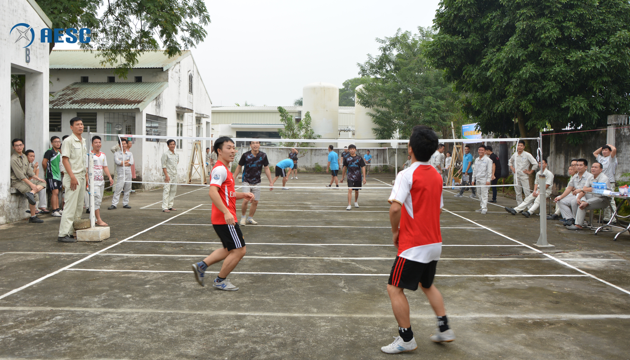 Môn đá cầu đôi nam diễn ra từ ngày 11/12 với 9 đội tham gia