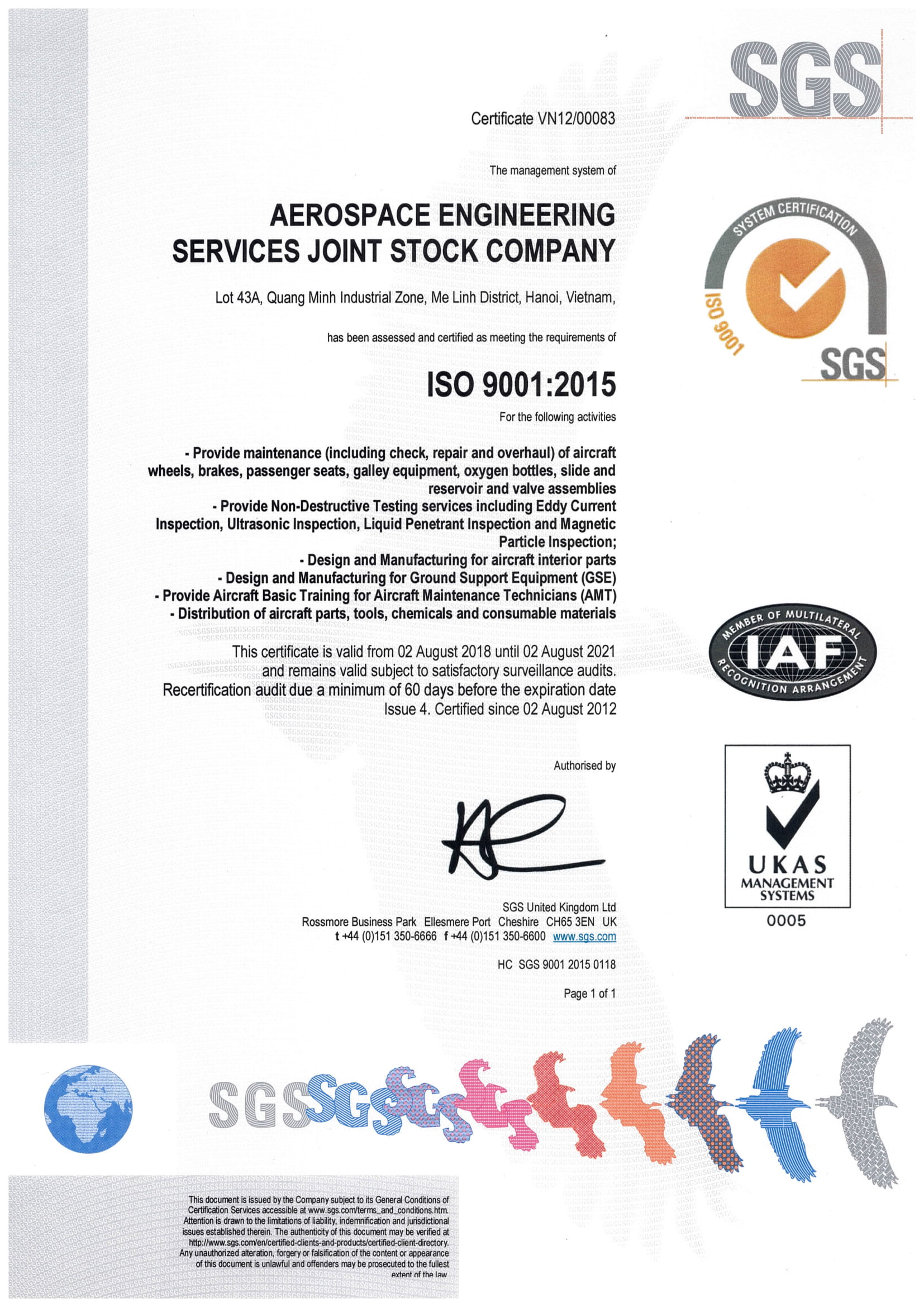 ISO 9001-2015 Issue 4