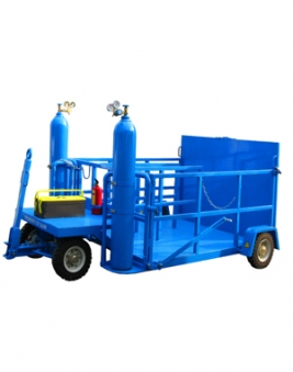Cart carrying Wheel, Nitrogen, Jack