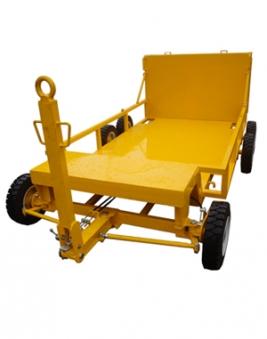 Roller compactor cart