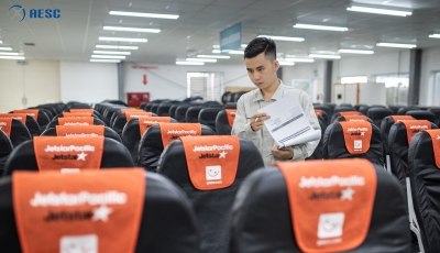 AESC MAINTAINED AIRCRAFT SEAT FOR JETSTAR PACIFIC AIRLINES