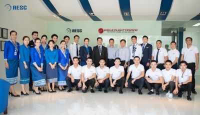 AESC AND FTC TO PROVIDE DISPATCHER TRAINING FOR LAO AIRLINES