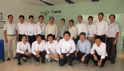Lao Airlines President official visit to AESC