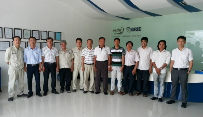 ULD Training Course for technician from Yangon Airport Group - YAG (Myanmar) and Tan Son Nhat Airport Ground Services - TIAGS (Vietnam)